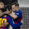 فيدال يعلق على رحيله عن برشلونة