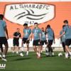 الشباب يختتم استعداداته لمواجهة الاتفاق وبالعمري يصل الى الرياض