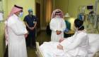 الخدمات الطبية بوزارة الداخلية تعايد المرضى في مستشفيات قوى الأمن