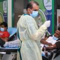 في يومها الأول حملة التبرع بالدم بنادي الفتح تشهد أقبال كبير من المتبرعين