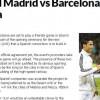 الماركا : كلاسيكو ريال مدريد وبرشلونة في مكة المكرمة !