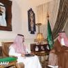 بن مساعد يستقبل الهاجري سفير مجلس شباب دول التعاون الخليجي