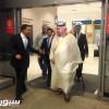 """سفير المملكة والمبتعثون يستقبلون """"الهلال"""" في مطار سيدني"""