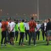 بعثة الشباب تصل الدوحة و تتدرب على ملعب الريان – صور