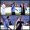 صورة رئيس النصر وسامي بعد المباراة تحدث جدلاً على تويتر