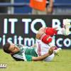 بالفيديو: اصابة عنيفة تهدد لاعبا الهلال والمكسيك بالغياب عن المونديال