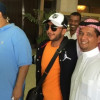 منصور البلوي يصل الى جدة وسط استقبال من ادارة الاتحاد