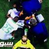 لاعب الأهلي يُنقل إلى المستشفى وشبح الصليبي في الصورة