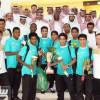 الجوهر والمسحل يستقبلان أبطال كأس الخليج للناشئين – صور