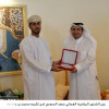 وزير الرياضة العماني يبارك اللقب لأخضر الاثقال