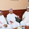 الشريف يستقبل وفد للإعلام الرياضي ويطلع على مشروع  منتخب الخليج