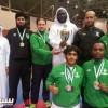 كاراتيه الأهلي تحقق المركز الثاني في بطولة المملكة للنخبة
