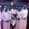 نائب رئيس الوزراء البحريني يتوج الحقباني بالبطولة الدولية للتنس