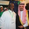 تركي العبدالله يزور جناح الأهلي في معرض الرياضة