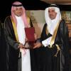 الأمير فيصل بن محمد يكرم نادي الاتحاد