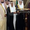 إدارة الفيصلي وأعضاء شرفه يزورون الرئيس العام لرعاية الشباب