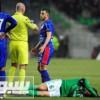 ايقاف لاعب بالدوري الفرنسي 11 مباراة بسبب الخشونة