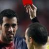 برشلونة يستأنف قرار إيقاف بوسكيتس مباراتين