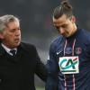 أنشيلوتي : إبرا من أفضل لاعبي العالم مع رونالدو وميسي