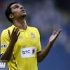 القحطاني يبارك للنصر لقب الدوري في أرض الملعب