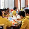 """الشيخ """"منصور العمري"""" يستقبل بعثة الفريق الأول بالتعاون في الرياض"""