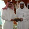 نواف بن فيصل يوجه الدعوة للفهد لحضور افتتاح دورة الألعاب الخليجية الثانية