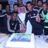 """بالصور : الشبابيون يحتفلون بمولودة هزازي و وفد """" ريال مدريد """" يزور النادي"""