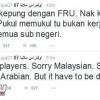 بالصور : الالتراس الماليزي : نعتذر للسعوديين وهذه أسباب الشغب !!