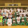 إدارة نادي الأنصار تكرم أبطال السلة والتنس الأرضي