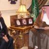 الامير عبدالله بن مساعد يستقبل سفير جنوب افريقيا