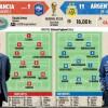 التشكيلة المتوقعة للمواجهة بين فرنسا والأرجنتين