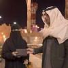 اللجنة الإعلامية لقرية الباحة تكرم سهى الزهراني ويمنحها جائزة التميز