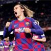 غريزمان يعلق على فشل برشلونة في تعويض سواريز