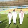 سمو وزير الرياضة يزور ملعب الأمير عبدالله الفيصل بجدة