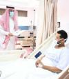الخدمات الطبية بوزارة الداخلية تقوم بجولات معايدة للمرضى