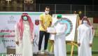 الحكيـر يتوج الفائزين بالمراكز الأولى ببطولة كأس الاتحاد للسهـام
