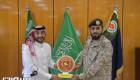 غدران وقائد الدفاع الجوي يبحثان سبل التعاون بين القطاعات الحكومية