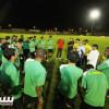 بالصور: العروبة يبدأ استعداده للنصر والعويش يحتفل باللاعبين