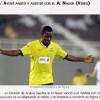 """الاكوادوري أيوفي """"يفك"""" النحس بأول هدف في الدوري السعودي"""