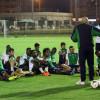 جروس يجهز لاعبي الأهلي لهجر بمحاضرة فنية