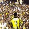 تيفو خاص في لقاء الاتحاد والنصر إحتفالاً ببراءة نور