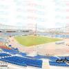 """بالصور : إنجاز 70% من ستاد """" الفيصل """" والتصميم يحاكي ملعب """" الإمارات """""""