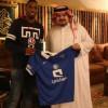 """رئيس الهلال يلتقي بالوافد الجديد """" جحفلي """""""