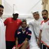 طبيب الوحدة يطمئن الجماهير على حالة المدافع طارق عبدالعزيز