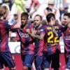 برشلونة ينجو من فخ سوسيداد بثنائية نيمار و بيدرو