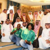 بالصور : سمو أمير منطقة مكة يستقبل إدارة النادي الأهلي