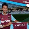 أربيلوا رسميا لاعبا في ويستهام يونايتد