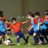 وقت اللياقة تُطلق تدريبات مدرسة برشلونة