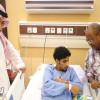 الجبرين يشكر رئيس النصر ويؤكد : لهذا السبب فضلت العملية في المملكة