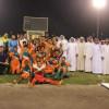 الأنصار بطلا لمنطقة المدينة المنورة لناشئين كرة القدم